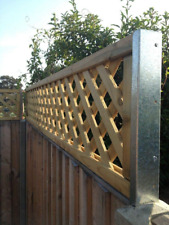 More details for postfix trellis fence height extension arms value pack of 5 pairs - no trellis