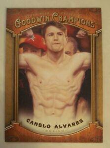 2014 Goodwin Champions Canelo Alvarez #13 BOXING UPPER DECK **