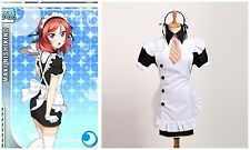 Nishikino Maki Lolita Maid Dress Anime Love Live Maid Dress Series Cosplay
