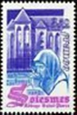 """FRANCE STAMP TIMBRE N° 2112 """" ABBAYE ST-PIERRE DE SOLESMES """" NEUF xx LUXE"""