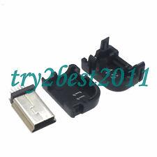 20pcs Mini USB Plug 10 Pin For Philips 90 degree with Plastic Handle Right Angle