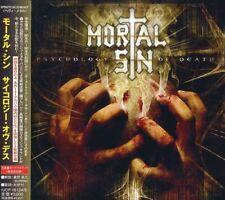 Mortal Sin-psychology Of Death -japan 2cd Bonus Track Ltd/ed G50