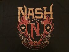 WWE Kevin Nash Watch Your Back T-Shirt 2XL XXL Diesel NWO WCW WWF