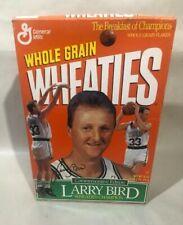 WHEATIES Commemorative Edition Box Larry Bird Retirement Ceremony Boston Garden