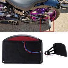 MOTORCYCLE CUSTOM SIDE MOUNT LICENSE PLATE TAIL LIGHT BRACKET FOR BOBBER CHOPPER