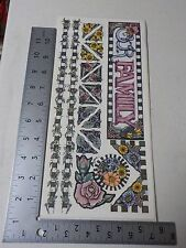STAMPING STATION OUR FAMILY BORDERS & CORNERS STICKERS SCRAPBOOKING NEW A2590