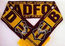 BRADFORD Football Scarves New from Superior Acrylic Yarns