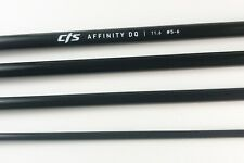 """Cts 11'6"""" 5-6 Weight Two Hand Spey Switch Fly Rod Blank - New - Jet Black"""