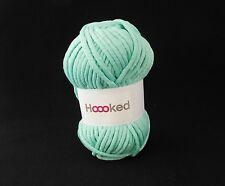 Hoooked soft néons ruban fil-crochet-magic mint super doux craft