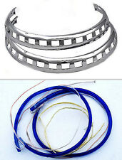 Rotor light rings, Goldwing GL1500 GL1800 Blue