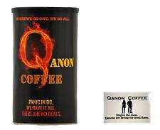 Qanon Coffee & Magnet - 12oz Colombian Arabica Beans - Medium Mix Roast
