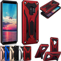HeavyDuty Armour Shockproof Hybrid Case Kickstand Cover For Samsung Galaxy S9,S7