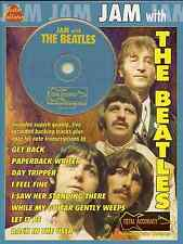 The beatles pour guitare partitions livre & playalong backing tracks cd pop rock