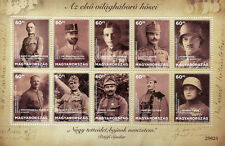 Hungary 2018 MNH WWI WW1 Heroes of First World War I 10v M/S Military Stamps
