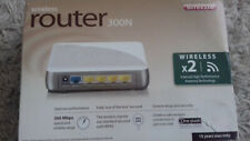 SITECOM WIRELESS MODEM ROUTER 300N X 2 BRAND NEW BOXED