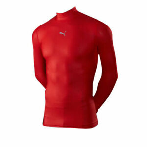 Puma Power PB Core Long Sleeve Mens Base Layer Gym Training Top 511607 01 A161A