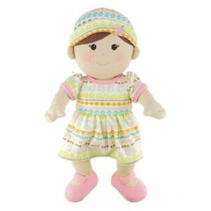 Organic GIRL Toddler Doll - 100% Organic Cotton, Removeable Clothes - Apple Park