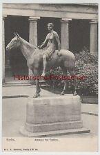(80313) AK Berlin, Amazone, Statue de TUAILLON, 1914