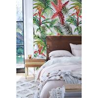 Tropical jungle Non-Woven wallpaper green wall Home Mural Traditional Decor