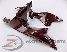 DISCOUNT Ducati 848 1098 1198 Air Vent Dash Cover Panel Fairing Carbon Fiber Red