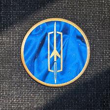 Bluegold Oldsmobile Dayton Wire Wheel Chips Emblems Decals Set Of 4 Size 275in