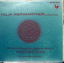 Weingartner - Brahms Variations On A Theme By Haydn LP VG ML 4783 Vinyl Record