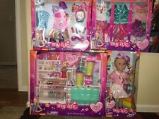JOJO SIWA MY LIFE DOLL CANDY SHOP PLAY SET TRAVEL SET & OUTFITS COMPLETE SET