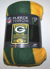 Nwt New Green Bay Packers NFL Football Logo Blanket Super Plush Fleece Throw Grn