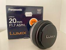 Panasonic Lumix G 20mm F1.7 ASPH.