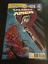 Uncanny X-men#18 Incredible Condition 9.4(2017) Vs Inhumans,Lashley Cover