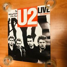 U2 The Unforgettable Fire Poster 20x24�