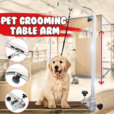 45'' Portable Adjustable Dog Stainless Pet Grooming Table Arm Bath Supplies
