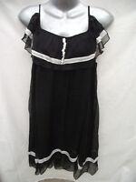BNWT Womens Sz 14 Yue Ping Black Designer Dress RRP$90