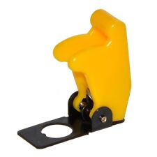 Flip Up Aircraft Style 12v/24v Toggle Switch Cover Guard - YELLOW