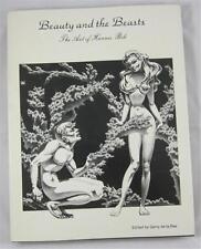 BEAUTY AND THE BEASTS ART OF HANNES BOK GERRY DE LA REE 1978 HC DJ REVIEW COPY