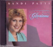 SANDI PATTI Make His Praise Glorious CD Classic 80s Christian Pop Gospel Great