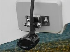 Stern Saver glue-on transducer mounting system for Fishrite Aluminum Boats