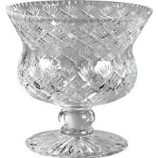 Thistle Punch Bowl Edinburgh Manufactured 30% Lead Crystal in Presentation Box