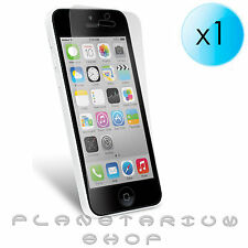 1x PROTECTOR DE PANTALLA TRANSPARENTE PARA APPLE IPHONE 5C CON 16 32 GB IOS7 LCD