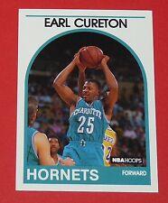 # 112 EARL CURETON CHARLOTTE HORNETS 1989 NBA HOOPS BASKETBALL CARD