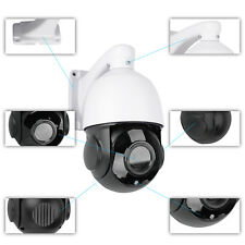 Wireless WIFI Outdoor 32GB SD 20X Zoom PTZ IP Camera CCTV Security HD 1080P
