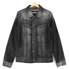 G-Star Grau Slim Embro Jeans Jacke Größe L