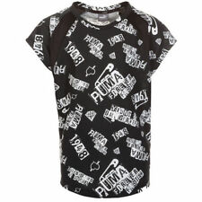 T-shirts et hauts noirs avec des motifs Graphique manches courtes pour garçon de 2 à 16 ans