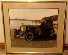 STATE FARM Insurance Framed Photo * 1920's Rolls Royce Automobile