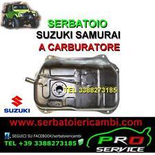 SERBATOIO carburante benzina SUZUKI SAMURAI A CARBURATORE nuovo