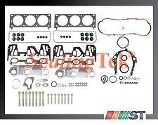 Fit 00-03 GM 3400 3.4L 207 V6 VIN E Engine Full Gasket Set + Cylinder Head Bolts