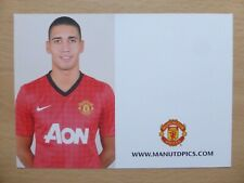 2012-13 Chris Smalling Unsigned Man Utd Club Card (9701)