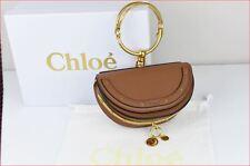 New Authentic Chloe Nile Minaudière Bracelet Caramel Bag
