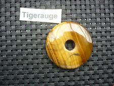 Anhänger Donut  rund - Tigerauge  / Sofortversand  super schön  40 mm Geschenk