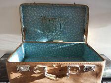 valise cuir bijouterie aluminium 1900 art nouveau CURIOSITY by PN